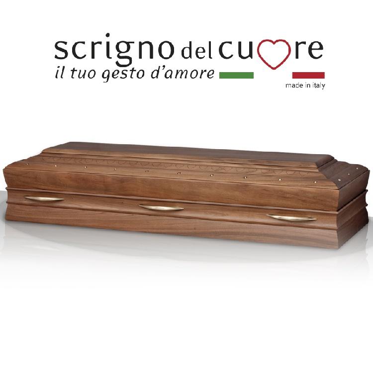 Cassa funebre modello NOCE RETTA