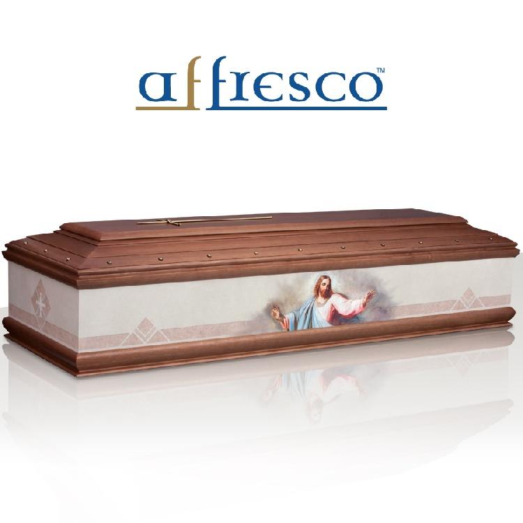 Cassa funebre modello CRISTO RETTA