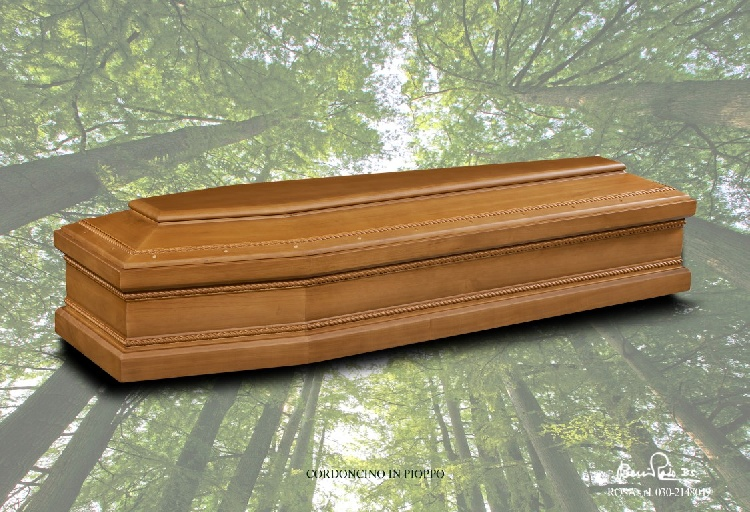 Cassa funebre mod. Cordoncino