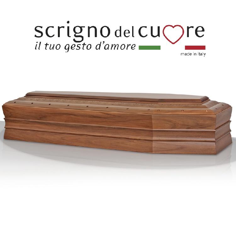 Cassa funebre modello CROCI SPALLATA