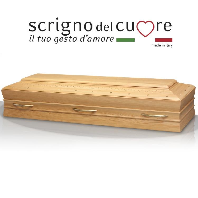 Cassa funebre modello NATURALE RETTA