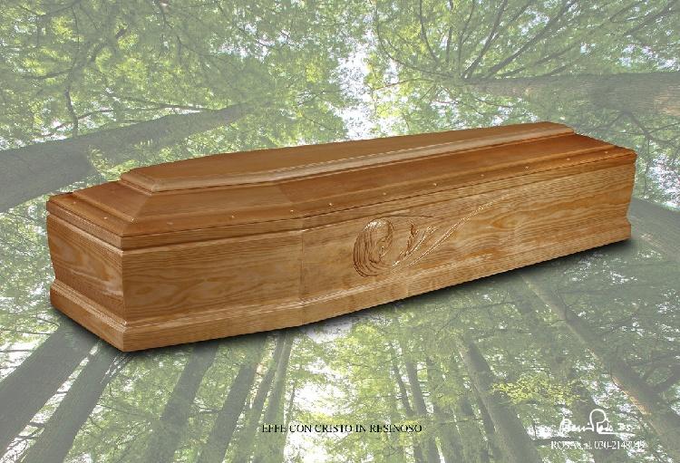 Cassa funebre mod. F Cristo_Resinoso