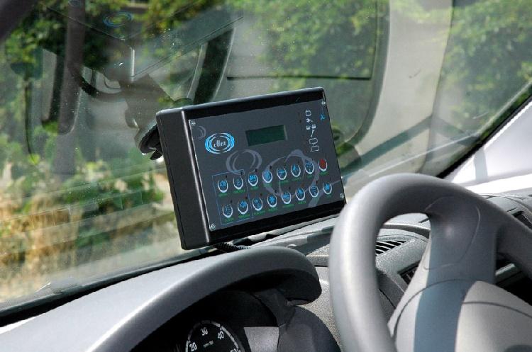 Allestimento in ABS Termoformato per ambulanza di soccorso realizzato su nuovo Fiat Ducato X250. immagine 6