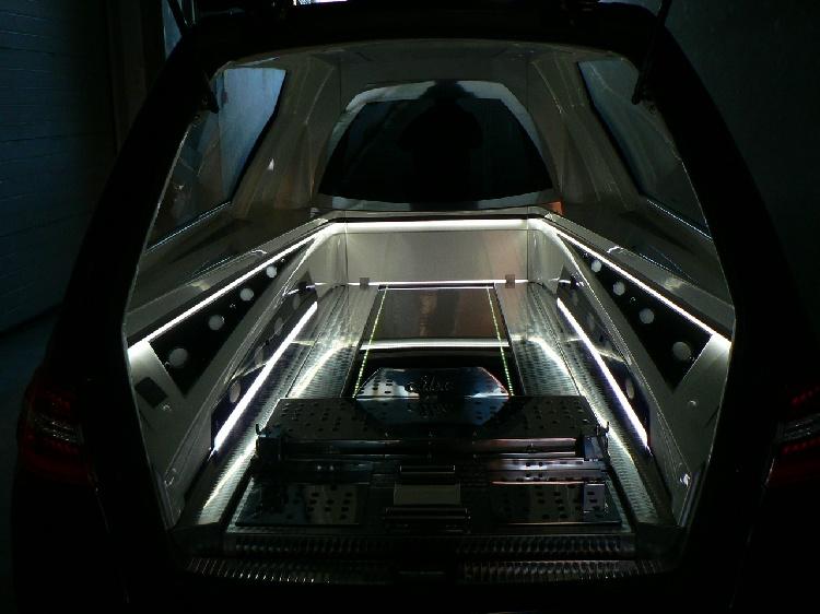 Autofunebre Mercedes classe C  CLS  Sirio E212 immagine 11