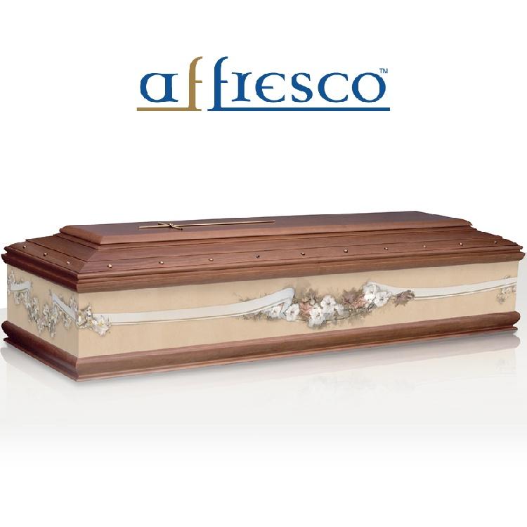 Cassa funebre modello INFIORATA RETTA