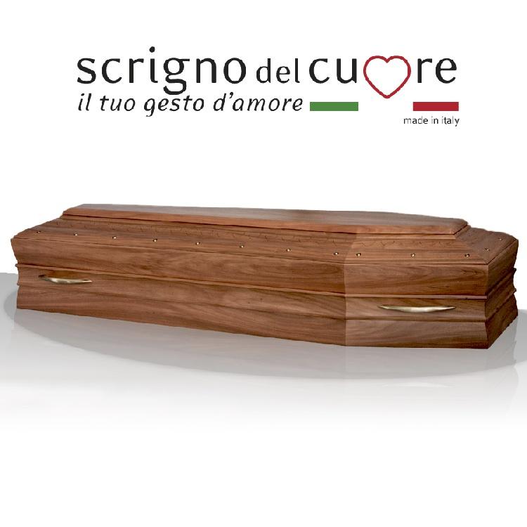 Cassa funebre modello NOCE SPALLATA