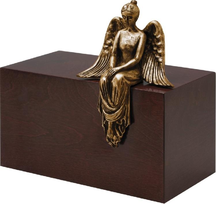 """Urna in legno e resina \""""Meditazione\"""" immagine 2"""