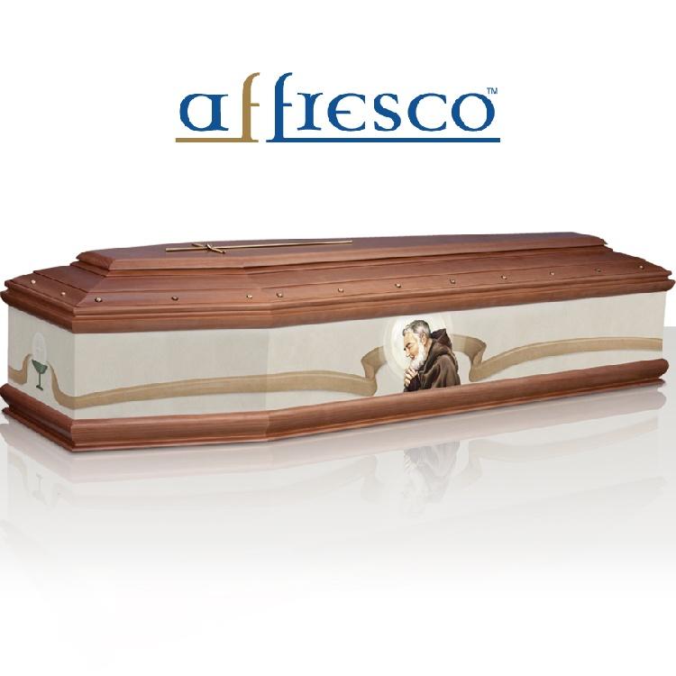 Cassa funebre modello PADRE PIO